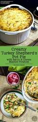 how to make a turkey pot pie with thanksgiving leftovers creamy turkey shepherd u0027s pot pie with bacon thanksgiving leftover