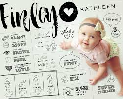10 ways to document your baby s 1st year tinyme