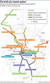 Denver Rtd Map How Denver U0027s Mile High Ambition Is A Road Map For Toronto Transit