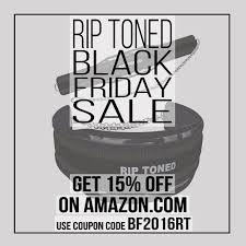 amazon black friday coupon codes rip toned fitness