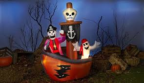 Halloween Outdoor Inflatables by Outdoor Halloween Pirate Inflatables Halloween Wikii