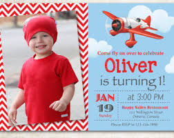 airplane birthday invitation airplane theme party invite boy