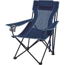 Coleman Oversized Quad Chair With Cooler Ozark Trail Oversized Mesh Lounge Camping Chair With Cup Holders