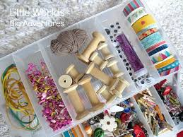 How To Put A Box Together How To Put Together A Portable Tinker Box For Creative Play