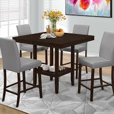 hillsdale tiburon 40 x 40 counter height fix top dining table