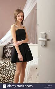 Schlafzimmerblick Bilder Ziemlich 14 Jährige Mädchen In Ihrem Schlafzimmer Blick Auf Die