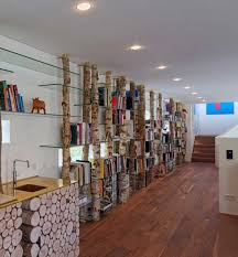 Ceiling Bookshelves by 9 Rooms With Floor To Ceiling Shelves To Inspire You Contemporist