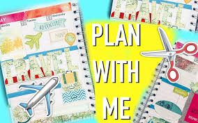 Travel Theme by Travel Theme Plan With Me Roxy Youtube