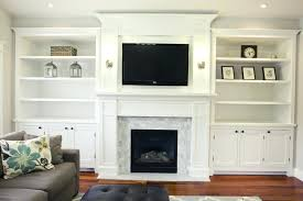 fireplace mantel tutorial side cabinets design fireplaces