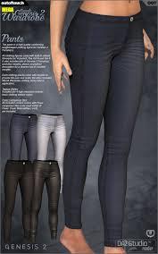 Wardrobe Clothing Genesis 2 Female U0027s Mega Wardrobe V6 G6 Gia 3d Figure Assets 3d