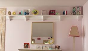 shelves for bedroom walls diy projects for a little girls bedroom makeover