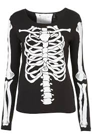 Halloween Skeleton Top by Bang Blitz Fashion Film And Food Blog Cassy Bhairo Skeleton