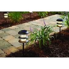 lawn stakes for lights amazonsmile solar led backyard pathway walkway lawn stake lights