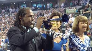who is performing at the dallas cowboys thanksgiving game jazz trumpeter freddie jones playing the national anthem at dallas