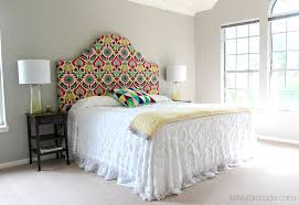 White And Cream Bedding Bedroom Classy King Size Wood Headboard Design Ideas With Dark