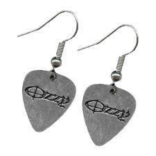 osbourne earrings ozzy osbourne logo earrings
