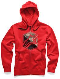 riding jacket price alpinestars disruption zip fleece men hoodies casual red
