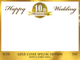 50 year wedding anniversary 10 year wedding anniversary gold anniversary personalise