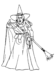 Wicked Witch Coloring Pages Wizard Of Oz Wicked Witch Coloring Wizard Of Oz Coloring Pages