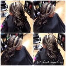 platinum blonde and dark brown highlights bright chunky highlighting heather creswell starrett i like this