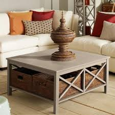 furniture accessories square gray polished wood coffee table