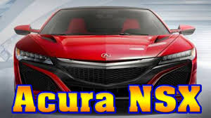 Acura Nsx Power 2018 Acura Nsx 2018 Acura Nsx Type R 2018 Acura Nsx For Sale 2018