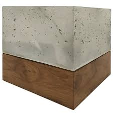 Concrete Planter Boxes by Modern Cast Concrete And Solid Walnut