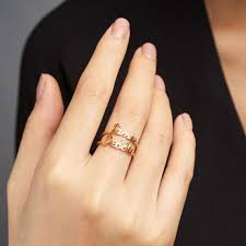 Name Ring Gold The 25 Best Name Rings Ideas On Pinterest Stackable Name Rings