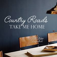 family quotes picture more detailed picture about country road country road take me home wall decals family quotes wall sticker vinyl lettering house wall decor