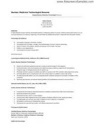 Sample Resume For Medical Laboratory Technician by Smartness Design Medical Technologist Resume 14 Medical Laboratory