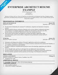Architect Resume Samples by Enterprise Architect Resume Resumecompanion Com Resume Samples