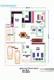 simple small south facinge floor plans indian plan sq ft kerala