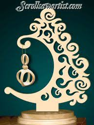 scroll saw patterns holidays christmas trees ornament