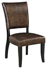 leather dining room chair dining room chairs ashley furniture homestore