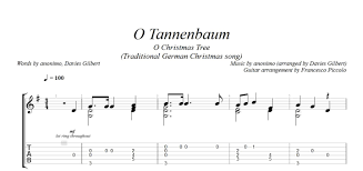 fingerstyle guitar o tannenbaum from christmas tunes nr 4