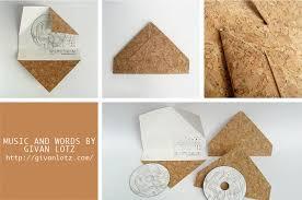 Origami Cd Cover - cushy