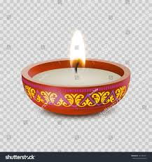 candle light tea light ornament stock vector 721346761
