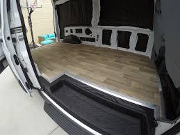 Vinyl Flooring Subfloor How To Install A Vinyl Floor In Your Van Morey U0027s In Transit