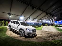 subaru lifestyle all new 3 row subaru ascent makes world debut at los angeles auto