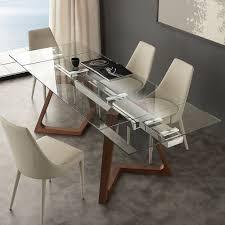 tavoli di cristallo sala da pranzo tavoli in cristallo per sala da pranzo sedie cucina moderne epierre