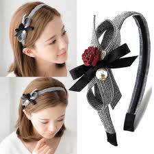 hair holders 2017 new flower pearls hairbands korean ol style women