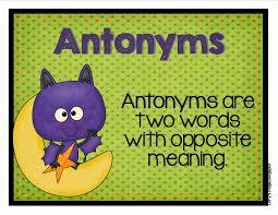 Antonym For Volunteer Lory U0027s 2nd Grade Skills September 2013