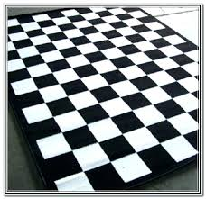 Checkered Area Rug Impressive Black And White Checkered Area Rug Stunning Rugs