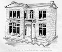 historic tudor house plans dolls house designs from the woodworker 1917 1970 by rebecca