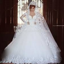 Custom Made Wedding Dresses Aliexpress Wedding Dresses Luxury Princess Ball Gown Tulle Beaded
