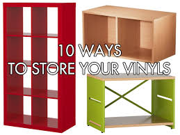 Vinyl Record Bookcase Home Inspiration 10 Shelves And Bins For Storing Vinyl Records