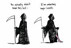 High Heels Meme - grim reaper high heels weknowmemes