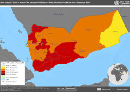 Map Of Yemen Who Disease Maps Of Countries Affected By Food Insecurity And Famine