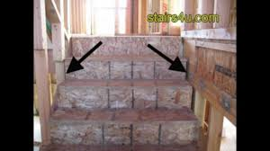Steps To Finishing A Basement Easy Stair Framing Tip Drywall Spacing Between Stringer And Wall