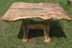 live edge table with turquoise inlay natural edge live edge dining tables custom wood tables wood